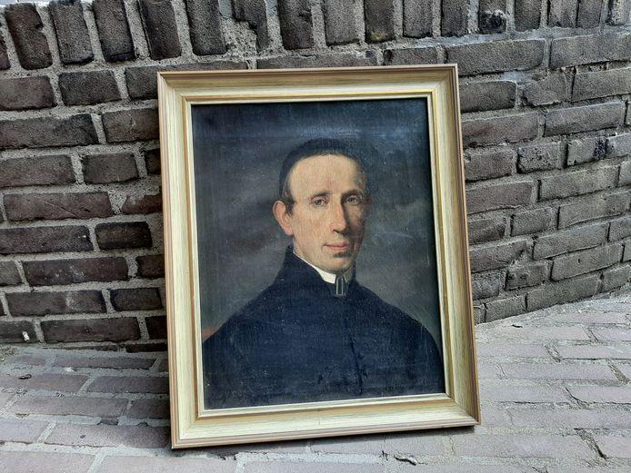 portret van onbekende in de kerk van Leuth