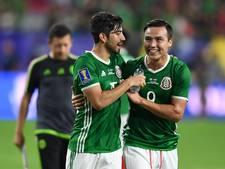 Mexico en Jamaica naar halve finale Gold Cup