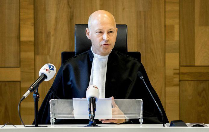 Hendrik Steenhuis, voorzitter van de rechtbank die het MH17-proces gaat leiden.