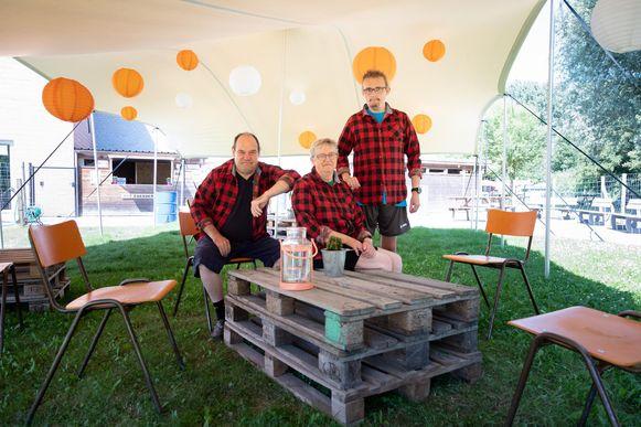 De initiatiefnemers van Bar Boerderie.