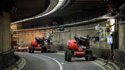 Verschillende Brusselse tunnels afgesloten door technisch probleem: euvel hopelijk hersteld voor ochtendspits