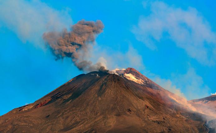 L'Etna en éruption le 20 juillet 2019.