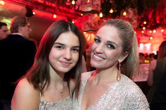 Gent - Story Showbizz Awards 2019  Eveline Hoste met haar dochter Helene Victoire