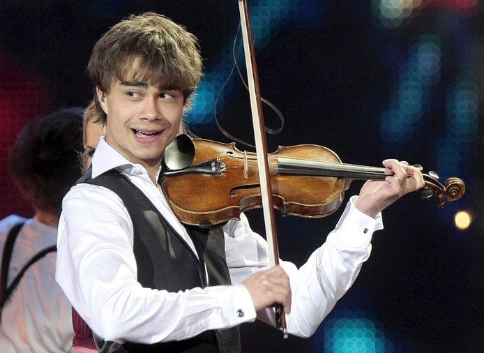 Alexander Rybak in 2009 op het Eurovisiesongfestival.