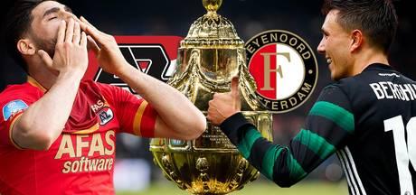 AZ en Feyenoord gaan op voor hoofdprijs in bekerfinale
