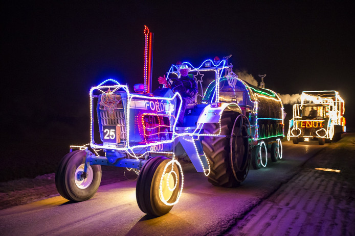 Tractors By Night