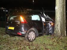 Bijrijder gewond door ongeluk door gladheid in Den Bosch