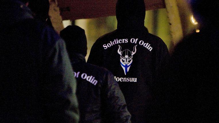 De Finse tak van Soldiers of Odin. Beeld ap