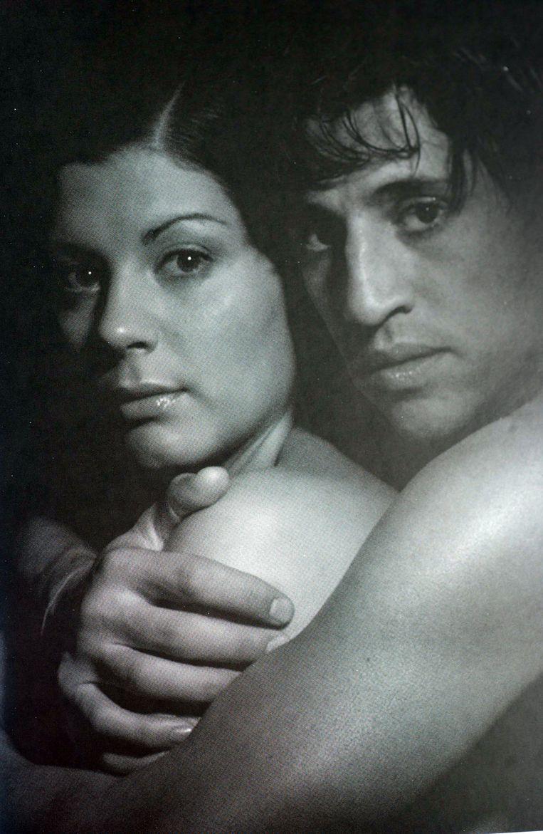 Hernan Crespo met zijn vrouw, het Italiaanse model Alessia Rossi Andra.