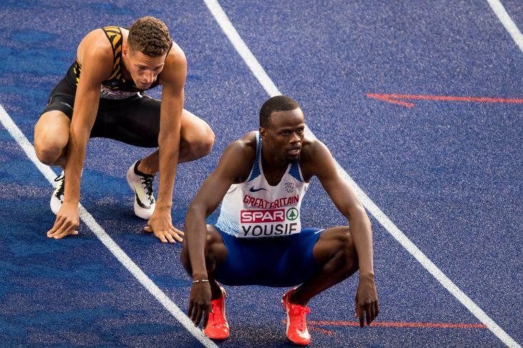 Dylan Borlée sneuvelde in de tweede halve finale.