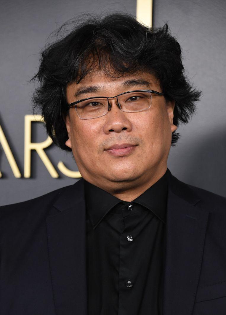 Bong Joon-ho. De regisseur maakte de zwart-witversie al tijdens de postproductie. 'Ik dacht: als ik mijn film zwart-wit maak, wordt het misschien ook een klassieker.' Beeld AFP
