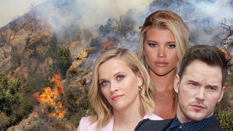 Deze beroemdheden werden getroffen door de bosbranden in Californië