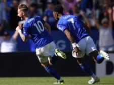 Leicester klopt Spurs ondanks curieuze 'struikeltreffer' Kane