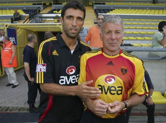 Als trainer van Galatasaray werkte Eric Gerets samen met Sükür.
