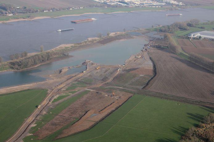 Ruimte voor de Rivierproject Munnikenland. Foto Rijkswaterstaat.