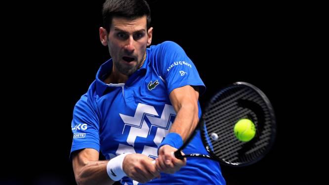 Djokovic trekt zich terug uit verkiezingen spelersraad ATP