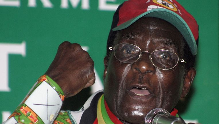 Robert Mugabe Beeld reuters
