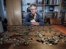 Verzamelaar Jacques heeft al 1050 lipjes van kofferritsen: 'Het begon in een donkere kelder op Schiphol'