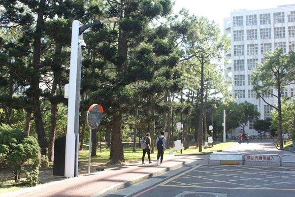 De slimme lantaarnpaal van Lite-On herkent verkeersovertredingen