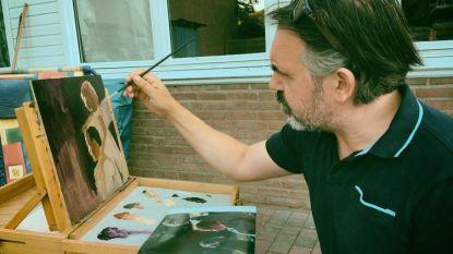 Schilder David Van Oost lanceert nieuwe projecten