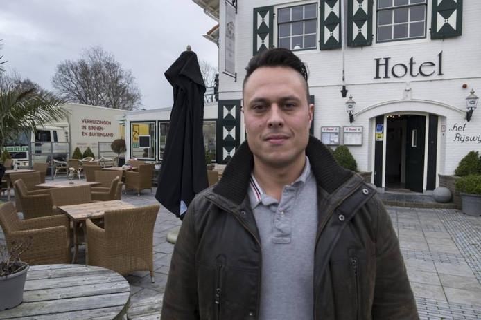 """Danny de Boer voor zijn Rijswijksche Huis: """"Er is ons een hogere omzet voorgespiegeld."""""""