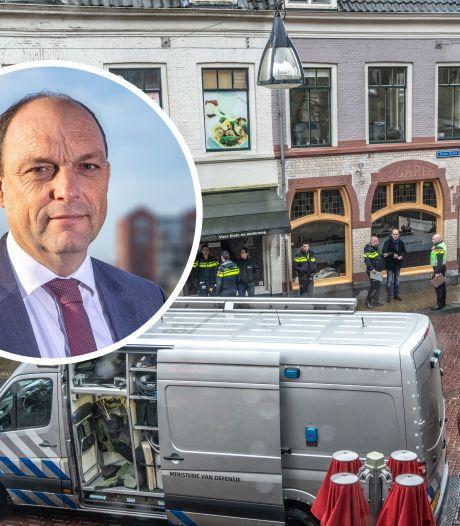Café Bruut twee weken dicht na granaatvondst