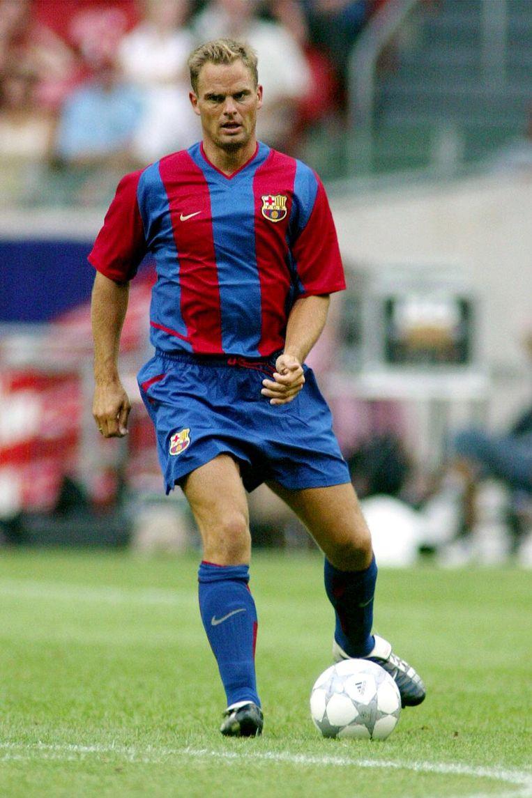 Frank de Boer in 2002 Beeld