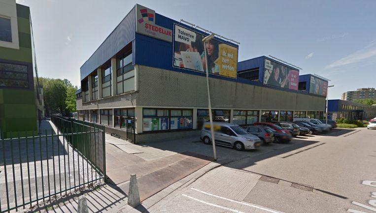 Het Stedelijk College in Zoetermeer. Beeld Google Street View