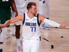 Doncić leidt Mavericks in verlenging langs Bucks