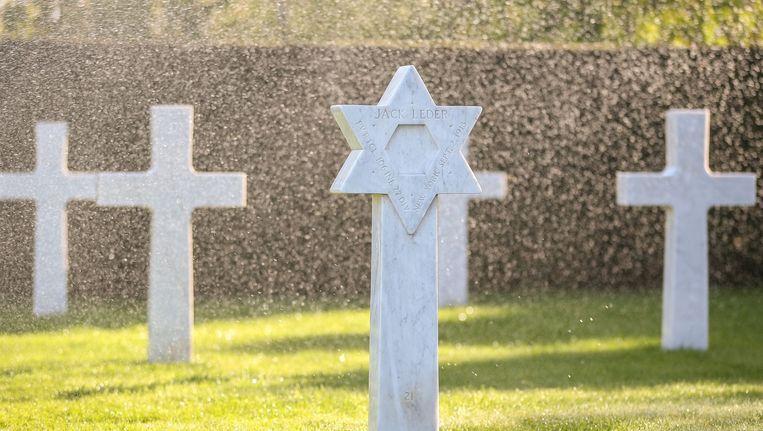 De Amerikaanse begraafplaats in Waregem.