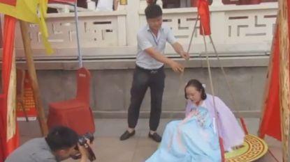 """Chinees themapark laat vrouwen met een """"licht overgewicht"""" van meer dan 61,8 kg gratis binnen"""