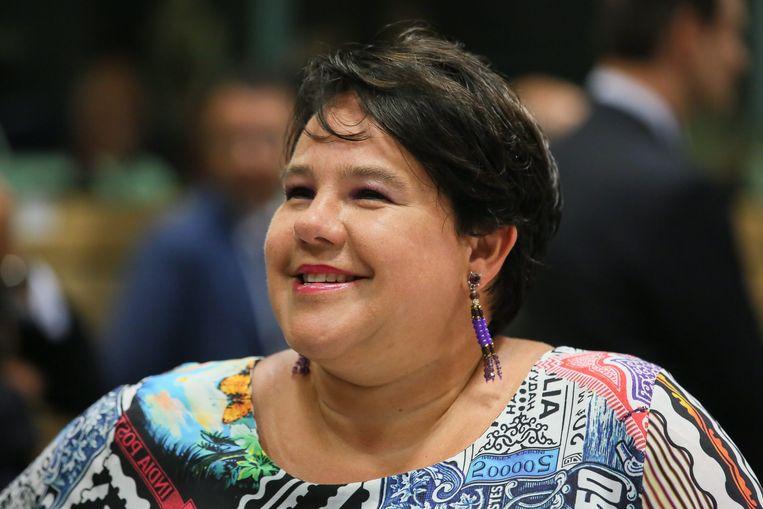 Staatssecretaris Sharon Dijksma van Economische Zaken. Beeld EPA