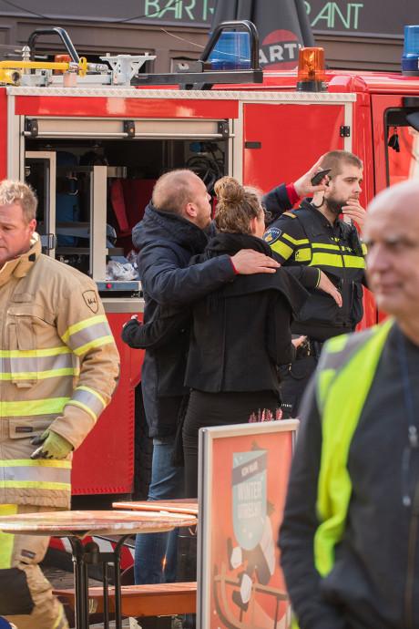 Timothy kan verwoestende brand in zijn huis aan het Domplein nog niet bevatten