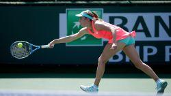 Elise Mertens knikkert in Miami Amerikaanse uit het toernooi