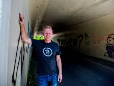 Groezelig tunneltje in Giessen wordt kunst