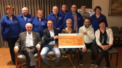 Concert Jo Vally brengt Rode Kruis 2.400 euro op