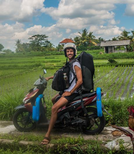 Scooteren door tropisch regenwoud op Bali