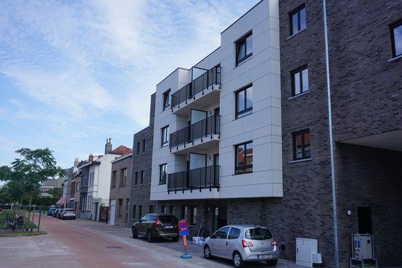De Gelukkige Haard leverde 25 nieuwe woningen op in de Honoré Borgerstraat.