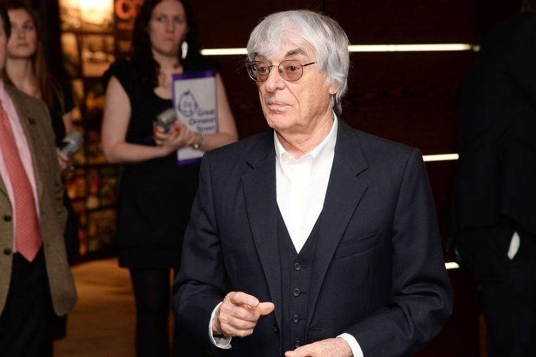 Bernie Ecclestone. Beeld getty