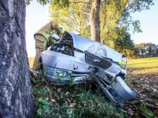 Automobiliste gewond na ongeval in Ommel