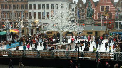 """Bree volgt Brugge niet en houdt ijspiste open: """"Voor de handelaars en de jeugd"""""""