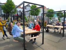 Extra meters terras worden in Vlissingen na 1 juni ook betaald