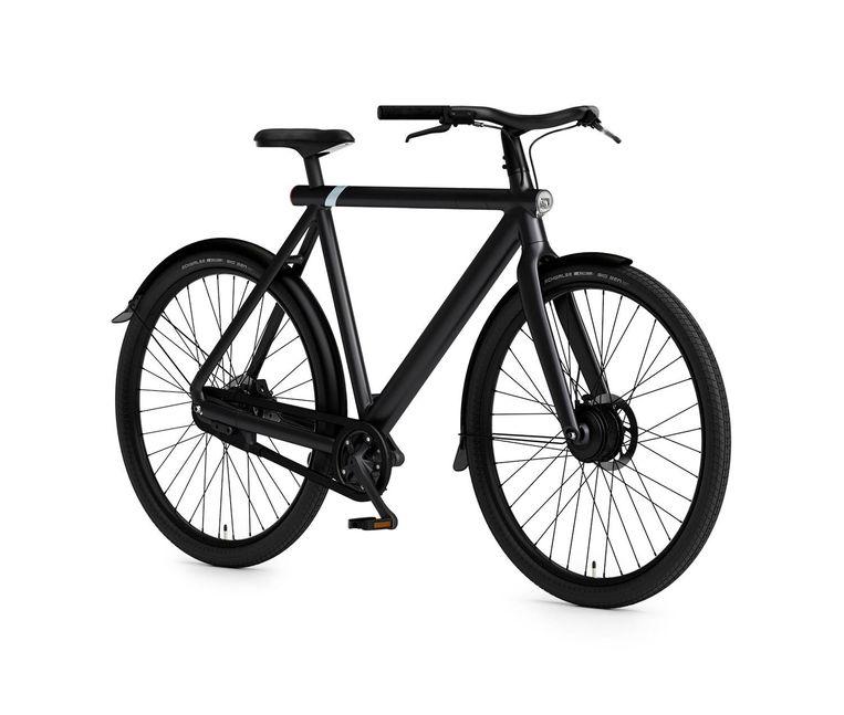 VanMoof profileert zich als de Tesla onder de e-bikes. Beeld VanMoof