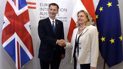 """Britse buitenlandminister Hunt waarschuwt voor """"vuile scheiding"""" tussen EU en Verenigd Koninkrijk"""