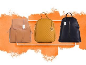 Deze rugzakken kan je perfect als handtas gebruiken