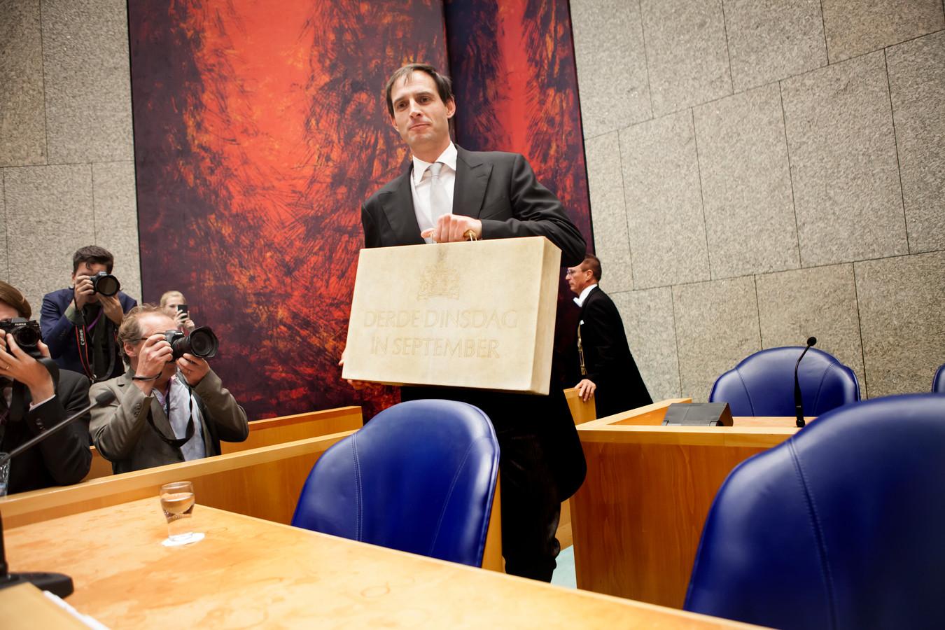 Minister Wopke Hoekstra van Financiën hoopt in zijn Miljoenennota opnieuw een begrotingsoverschot te kunnen presenteren.