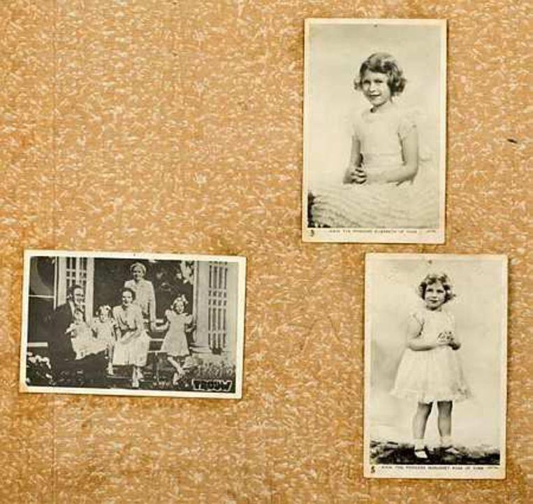 De foto's na de restauratie. De plaatjes die Anne Frank op de muur van haar kamer in het Achterhuis had geplakt, hebben een restauratie ondergaan. Op de 59 foto's, geknipt uit het tijdschrift Libelle, staan filmsterren, kinderen en kunstwerken. Foto ANP Beeld