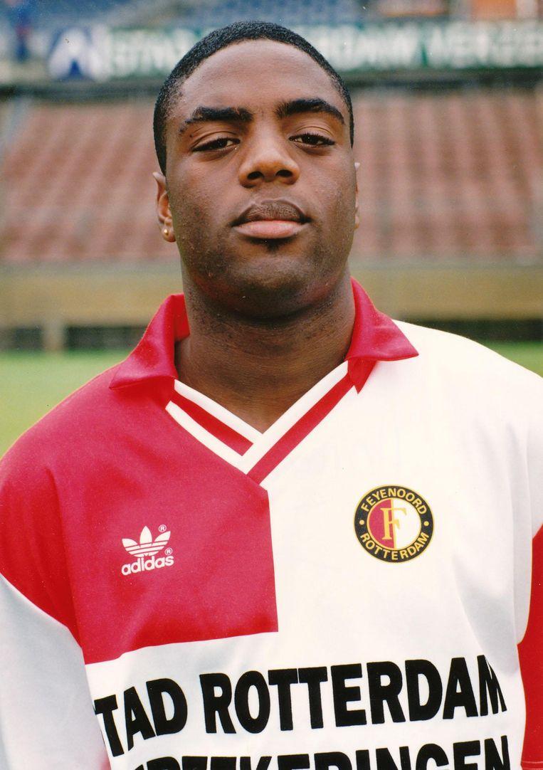 Harvey Esajas speelde tussen 1993 en 1996 voor Feyenoord Beeld Rotterdams Dagblad