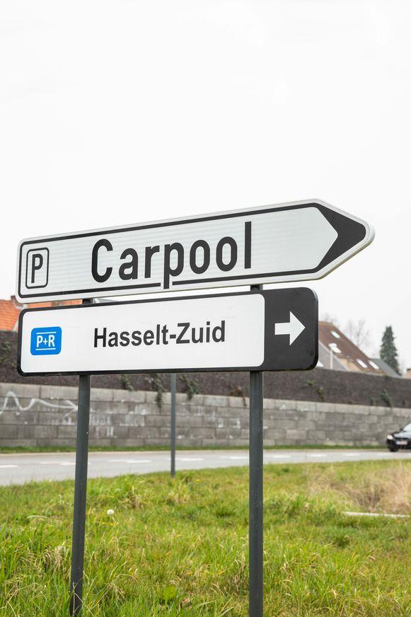 Carpool in Hasselt-Zuid.