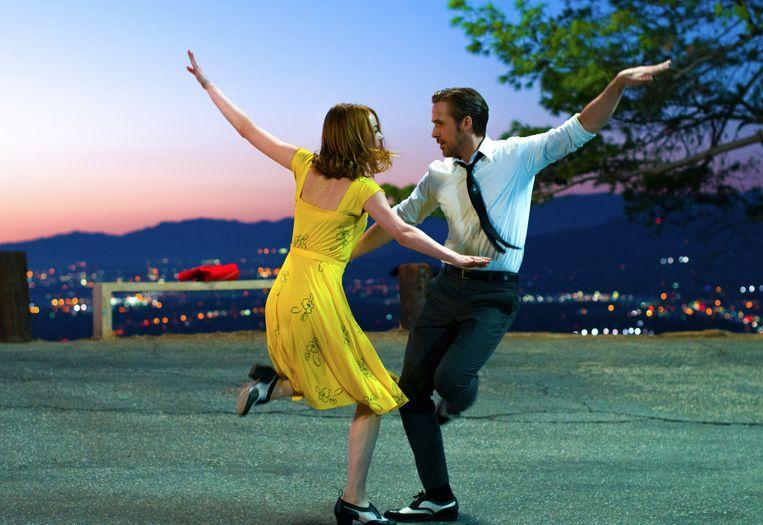Still uit de film 'La La Land'.  Beeld AP